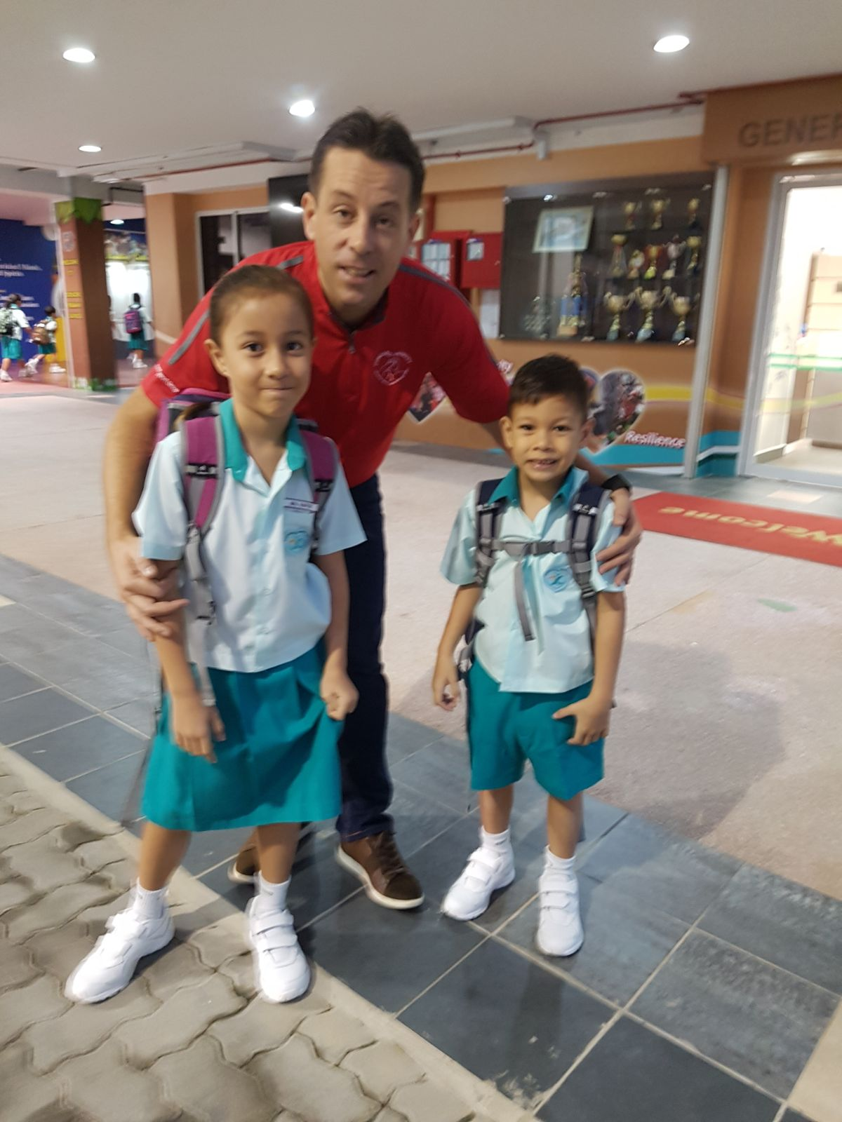 Back to school with Dad 2018